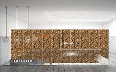 Дизайн панель 18 мм D100.017 Walnut Gold (Орех Голд)